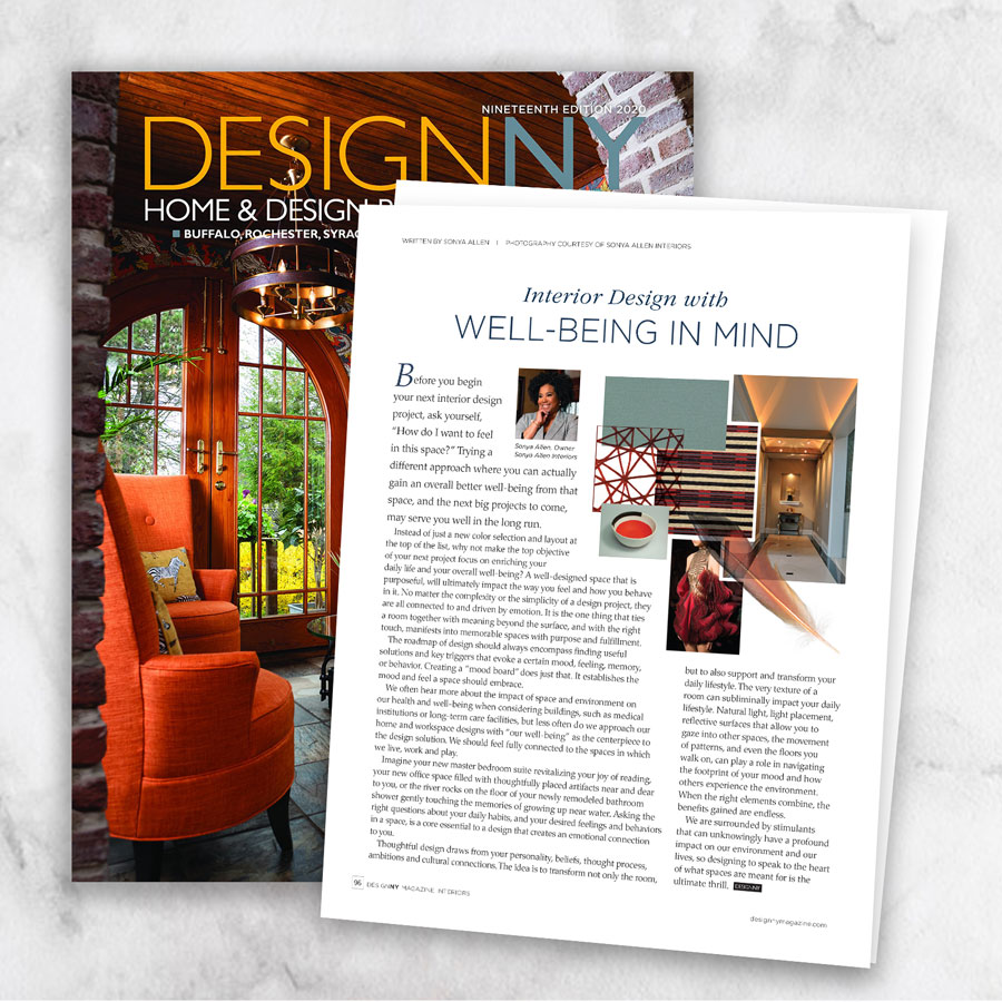 Interior Design with Well-Being in Mind